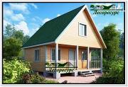 Фото: дом из бруса