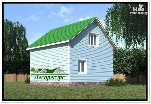 Фото 4: проект каркасный дом с двумя спальнями