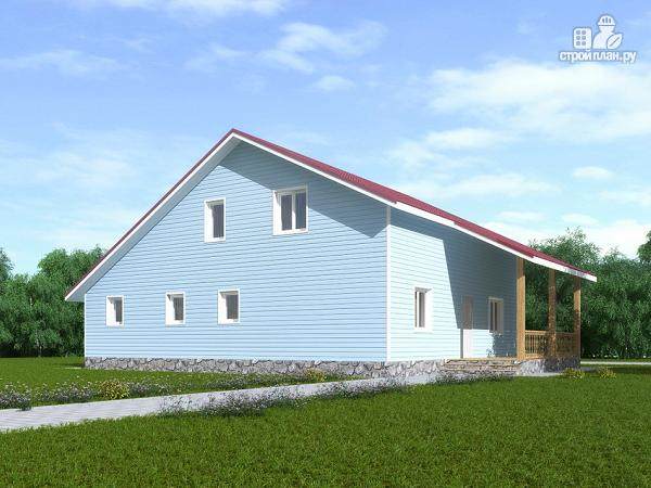 Фото 3: проект каркасный дом с мансардой