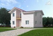 Проект каркасный дом с мансардой