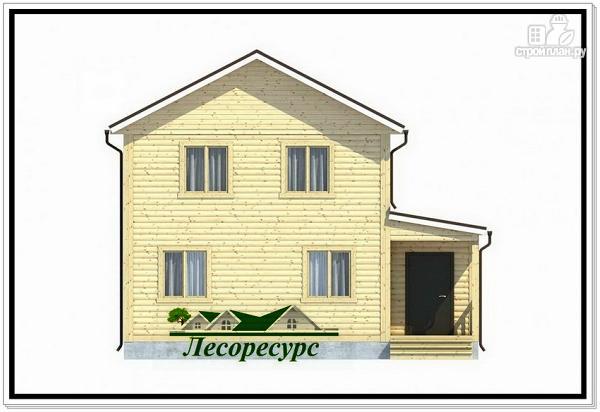 Фото 2: проект 2 х этажный каркасный дом