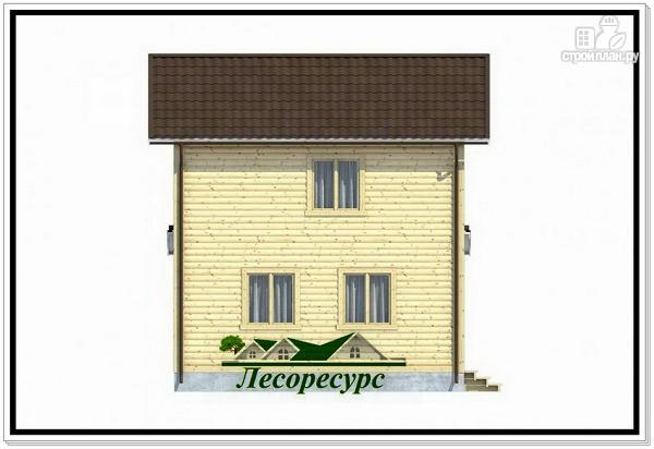 Фото 3: проект 2 х этажный каркасный дом