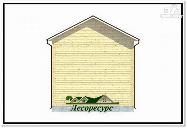 Фото 4: проект небольшой каркасный двухэтажный дом