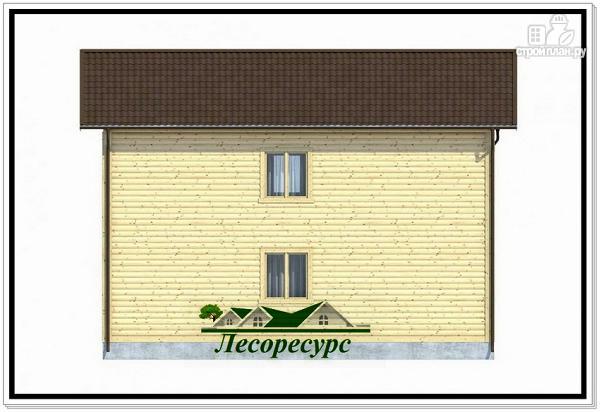 Фото 4: проект двухэтажный каркасный дом 7 на 9