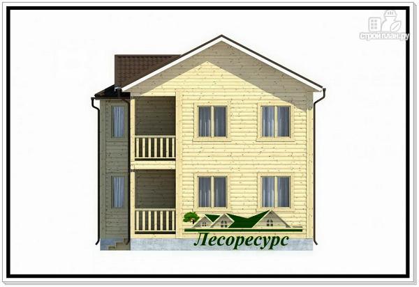 Фото 5: проект двухэтажный каркасный дом 7 на 9