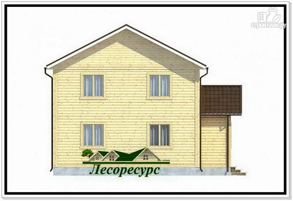 Фото 3: проект двухэтажный каркасный дом 8.5 на 9