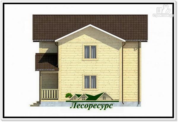 Фото 4: проект двухэтажный каркасный дом 8 на 9