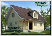 Проект каркасный дом с кукушкой