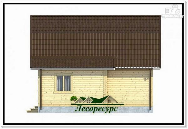 Фото 5: проект каркасный дом 7.5 на 8 с ломаной крышей