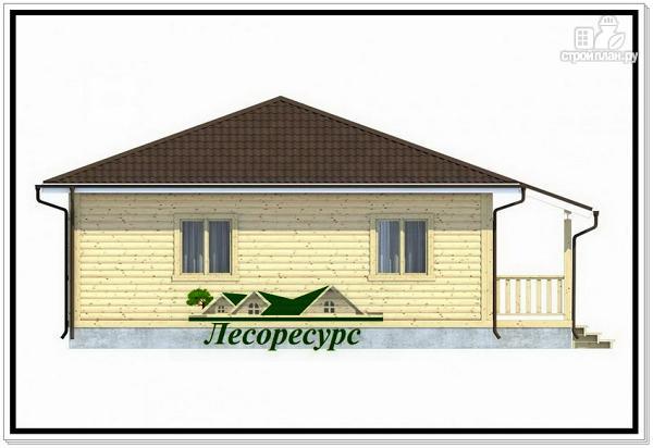 Фото 3: проект одноэтажный каркасный дом 8 на 8