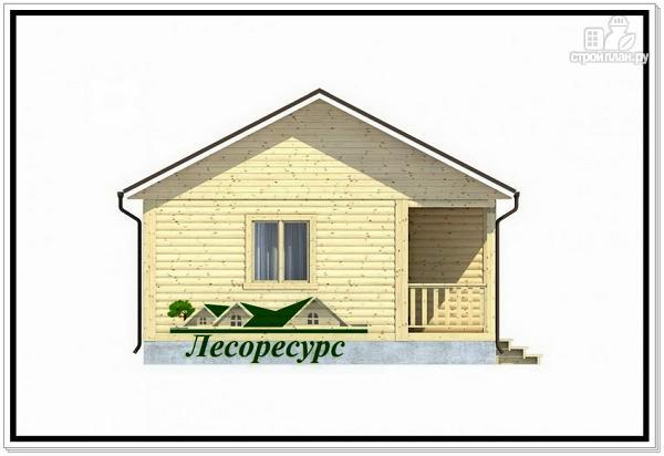 Фото 3: проект одноэтажный каркасный дом 6 на 9