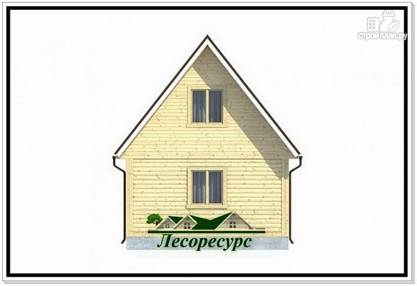 Фото 4: проект каркасный дом 4 на 5 с крыльцом