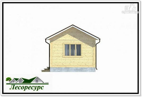 Фото 5: проект каркасный домик с террасой