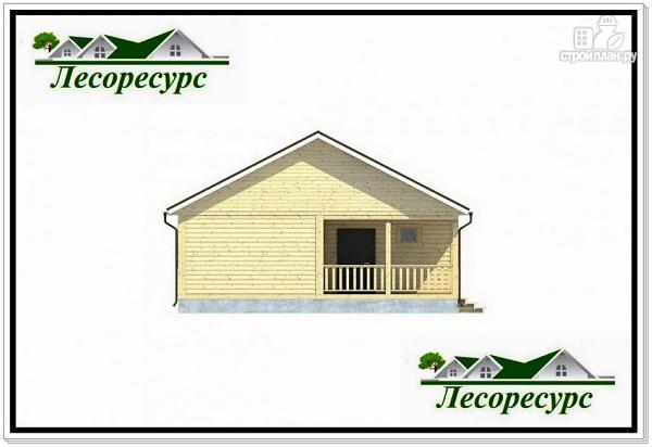 Фото 3: проект длинный одноэтажный дом
