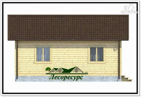 Фото 4: проект одноэтажный каркасный дом 6 на 7.5