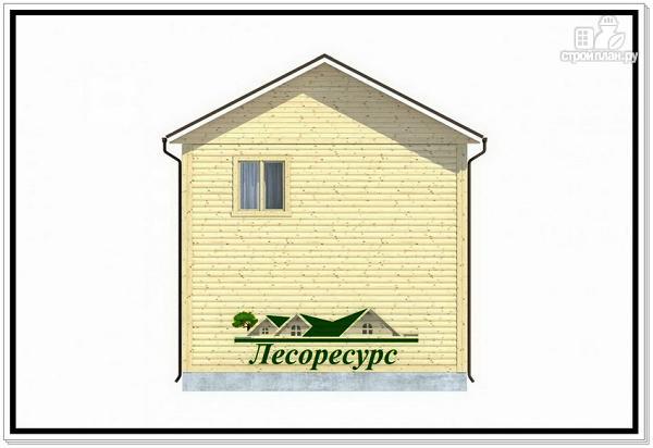 Фото 4: проект квадратный каркасный дом