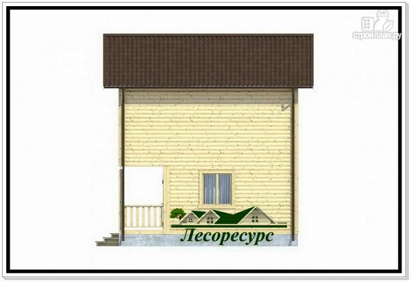 Фото 5: проект квадратный каркасный дом
