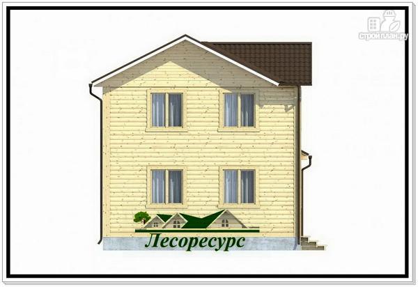Фото 3: проект небольшой каркасный дом 6 на 8