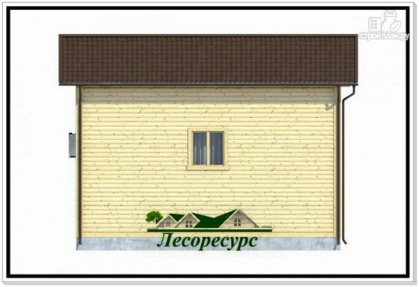 Фото 4: проект небольшой каркасный дом 6 на 8