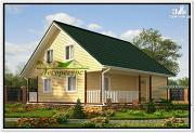 Проект двухэтажный дом 9 на 9