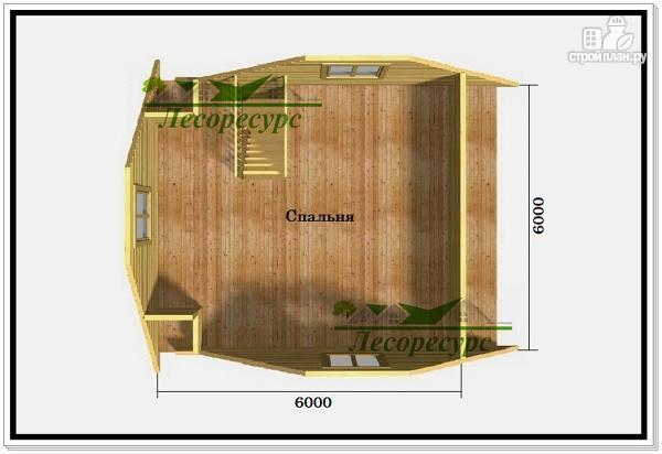 Фото 3: проект частный дом из бруса