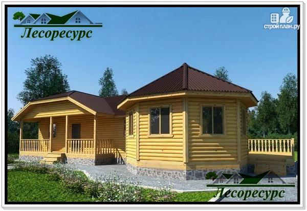 Фото: проект дом с отдельной гостиной