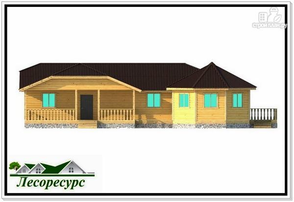 Фото 4: проект дом с отдельной гостиной