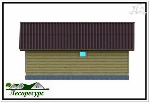 """Фото 6: проект каркасный дом с длинной террасой"""""""