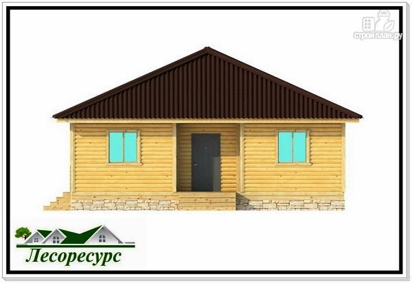 Фото 6: проект одноэтажный каркасный дом с вальмовой крышей