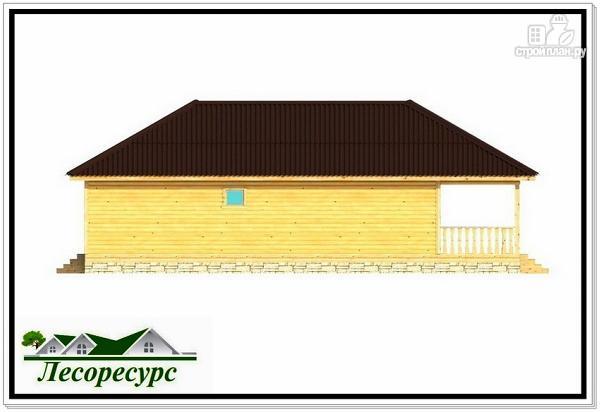 Фото 7: проект одноэтажный каркасный дом с вальмовой крышей