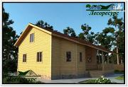 Проект каркасный дом 10 на 12 с мансардой