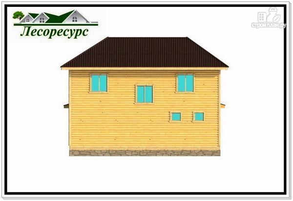 Фото 7: проект каркасный дом с двумя эркерами