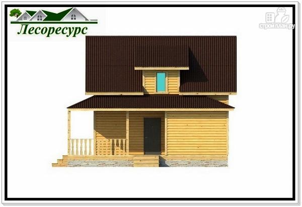 Фото 6: проект каркасный дом с многоскатной крышей