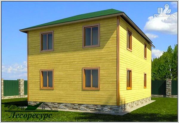 Фото 3: проект эксклюзивный дом из бруса