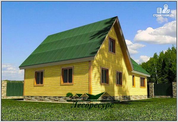 Фото 3: проект дом для постоянного проживания из бруса