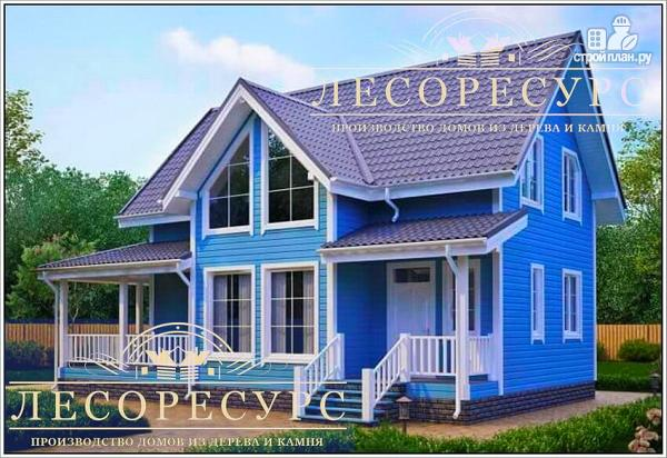 Фото: проект каркасный дом для постоянного проживания