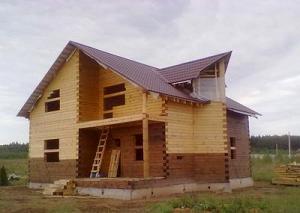 Брусовые дома недорого из Костромы