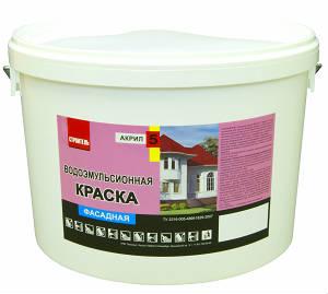 Фасадная краска Строитель, ВД-АК-11 Акрил 5