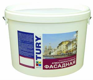 Фасадная краска TURY ВД-АК-11 TURY