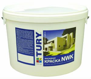 Фасадная краска TURY NWK люкс акрилатная
