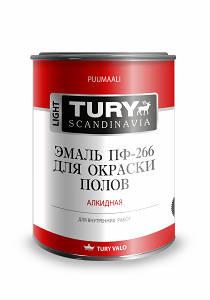 Эмаль для пола ПФ-266 TURY