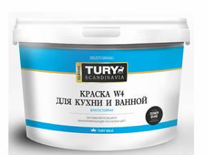 Краска влагостойкая TURY ICE W-4