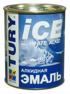 Эмаль алкидная TURY ПФ-115 стандарт ГОСТ P51691-2008. Цвет: голубой