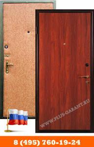 Стальные двери с отделкой ламинатом