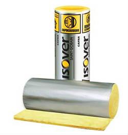 Фольгированный утеплитель ISOVER Сауна 12500*1200*50 мм (0,75 м3)