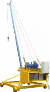 Кран Пионер, г-п от 500кг, h подъёма 50м
