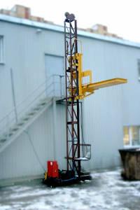 Подъёмник грузовой от 500кг. h подъёма от 4 до 100м