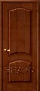 Двери массив М7ш темный лак