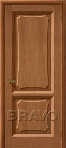 Двери шпонированные Ника орех