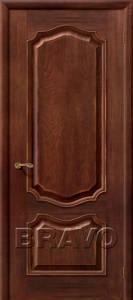 Двери шпонированные Премьера патина голд